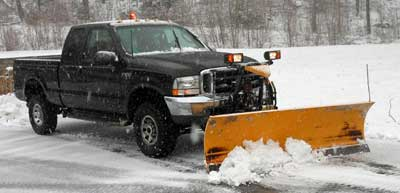 it is illegal to deposit snow in a public right of way or roadway