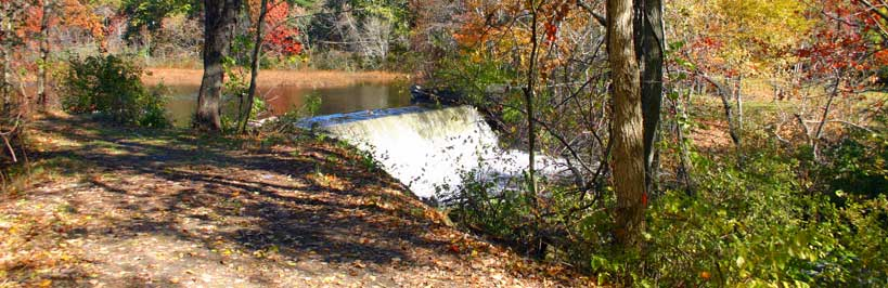 Capron Dam along the Stillwater Scenic Trail