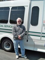 van available for senior & disabled transportation